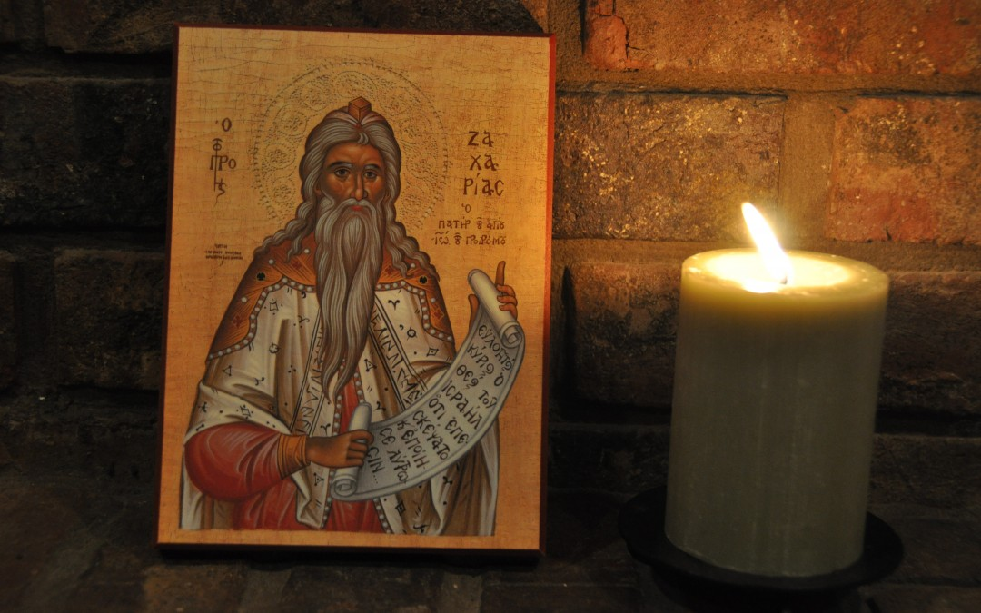 A Name Day Celebration: Prophet Zacharias